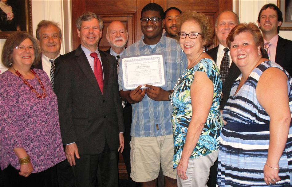 Walter Luchay of Wyncote Academy wins 2015 Substance Abuse & Mental Health Committee Multimedia Contest