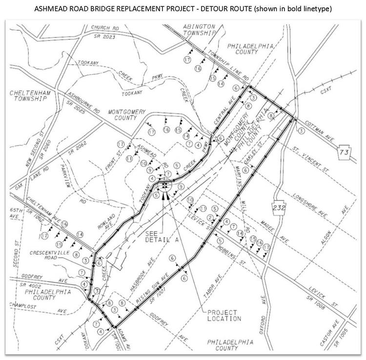2018 12 13 Ashmeade Rd Bridge Detour Plan